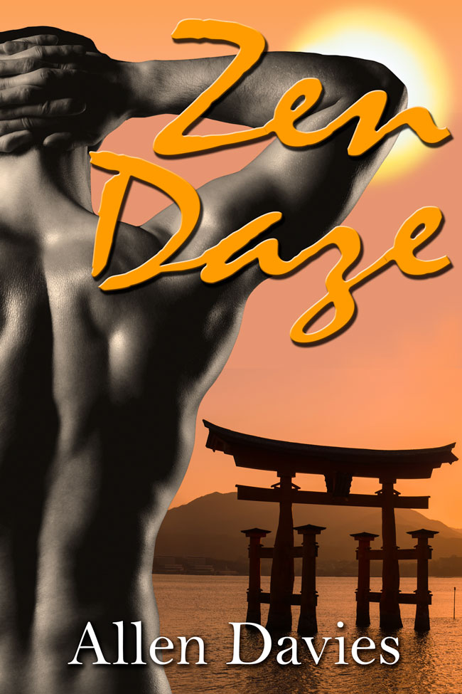 Zen Daze ebook cover by Caligraphics