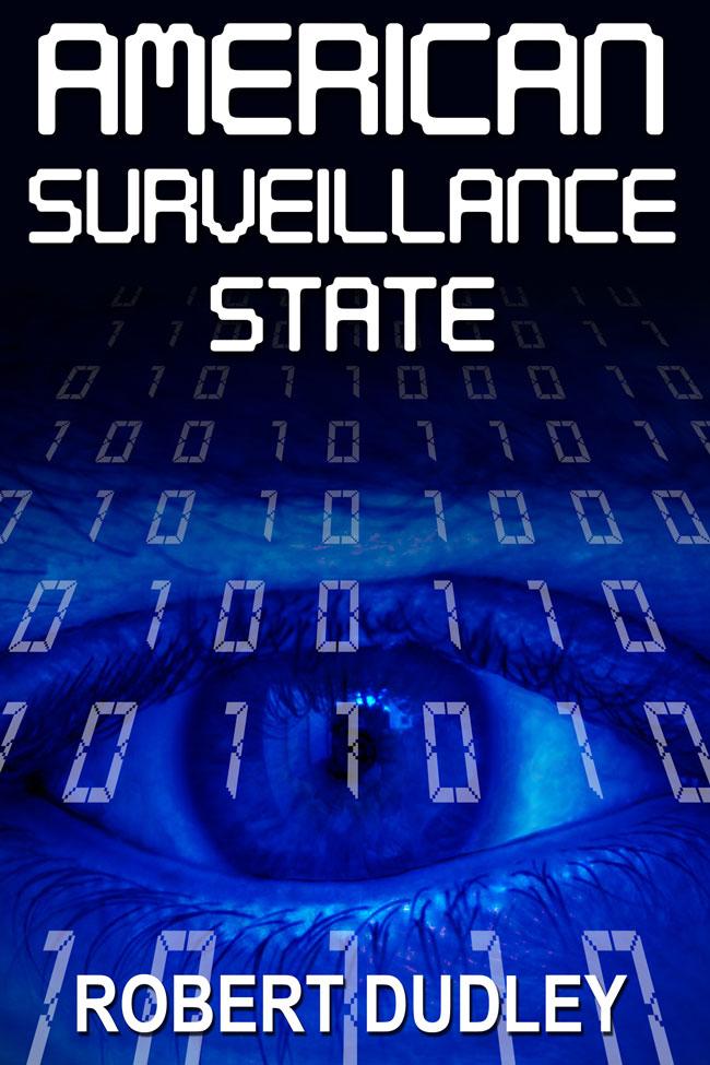 American Surveillance State custom ebook cover