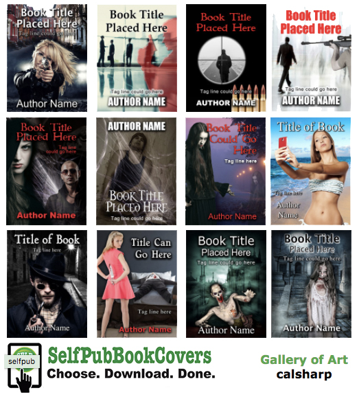 SelfPubBookCovers by Caligraphics