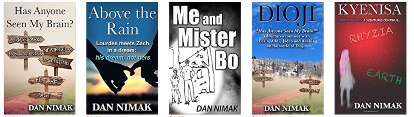 Dan Nimak book covers