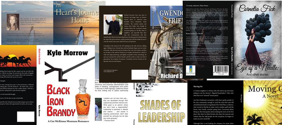 Ebook cover design - Print cover design- Formatting and web